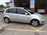 Ford Fiesta ZETEC, 2008/58, 1.4 diesel, £30 tax, £2495