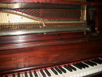 Upright Bachman Piano with Bench