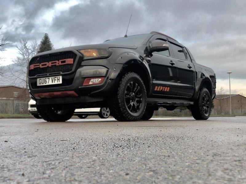 2017 Ford Ranger Seeker Raptor Wildtrak 4x4 Tdci 4 Door Pick Up