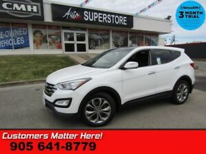 2013 Hyundai Santa Fe Sport SE  AWD LEATHER ROOF CAMERA HS BT