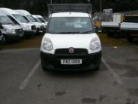 2012/62 FIAT DOBLO 1.3 M/JET 16V LWB WORK-UP S/CAB CAGED DROPSIDE PICK-UP DIESEL
