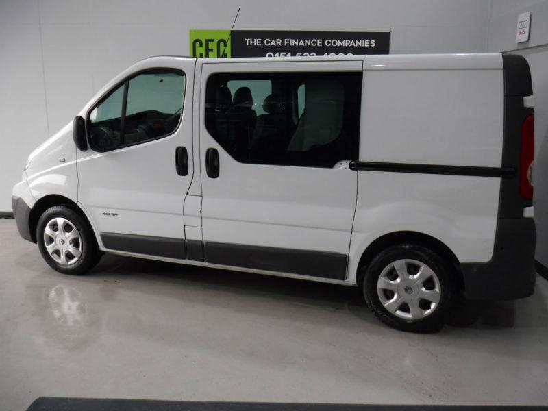 33c0ca66ff Renault Trafic 2.0dCi Sat Nav Crew Van BUY FOR ONLY £199 A MONTH FINANCE