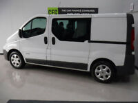 e8ab21781f2a Renault Trafic 2.0dCi Sat Nav Crew Van BUY FOR ONLY £199 A MONTH FINANCE