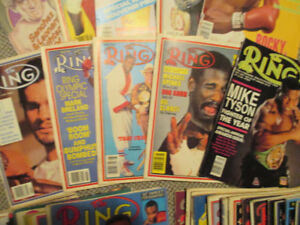 VINTAGE BOXING MAGAZINE COLLECTION