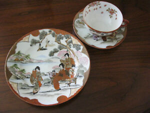 Vintage Japanese tea set Kitchener / Waterloo Kitchener Area image 3