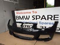 BMW E92 E93 COUPE CONVERTIBLE FRONT BUMPER FACELIFT BLACK BREAKING 1 3 5 6 7 SERIES