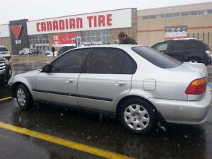 2000 Honda Civic Special Edition Sedan
