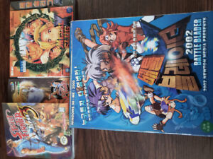 3 Extremely Rare unopened PC games Asian