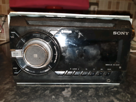 Sony double din cd player