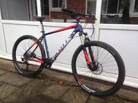 Scott aspect 700 hardtail, large frame,27 .5 inch wheels,2016 model ,showroom condition, rrp 1,149