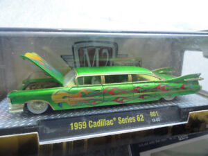 M2 Machines 1959 Cadillac Stretch Rod Chase