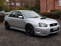 2005 SUBARU IMPREZA WRX TURBO 375bhp dyno modified