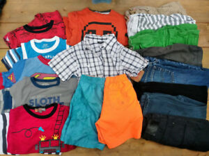 Large Lot of Boys Size 5T Clothing (over 20 items)