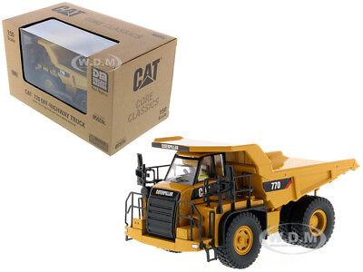 CAT CATERPILLAR 770 OFF HIGHWAY DUMP TRUCK 1/50 MODEL BY DIECAST MASTERS 85551 C