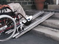 7ft Telescopic Ramp = £100 (Brand New and never used)