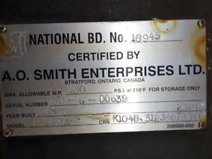 A.O. Smith Water Storage Tanks