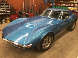 1970 -454-4 gear corvette.
