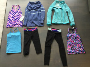 IVIVVA youth girl size 8 clothes jackets sweater tops backpack