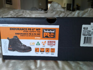 "Timberland Pro Endurance Pr 6"" WP Steel Safety Toe"