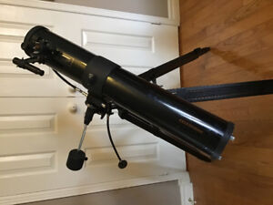 "Celestron 4-1/2"" (114mm) Newtonian telescope 910mm f L"