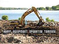HEAVY EQUIPMENT OPERATOR TRAINING STARTS MARCH 7, 2016!