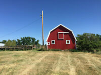 LARGE ACREAGE with Home, Garage, Barn, Shop, Quonset & MORE