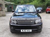 12 Land Rover Range Rover Sport 3.0 SD V6 4X4 ( 255bhp ) ( Luxury Pk ) aut HSE