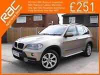 2007 BMW X5 3.0d Turbo Diesel SE 6 Speed Auto 4x4 4WD Pan Roof Sat Nav Bluetooth