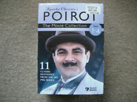 NEW Agatha Christie's Poirot DVD Movie Collection - Sets 1-4