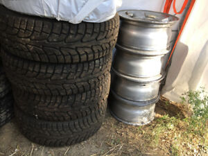 265/70/R17 tires with rims