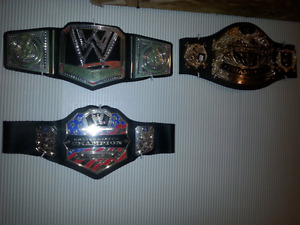 Wanted wwe toy belts