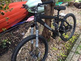 Mountain bike 24/7 free ride jump bike
