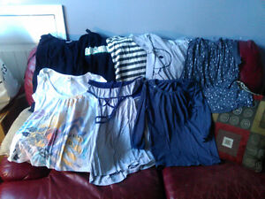 8 Size Large Tops T-Shirts, Tanks etc.