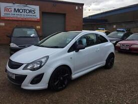 2013 Vauxhall Corsa 1.2i 16v Limited Edition ( a/c ) White, **ANY PX WELCOME**