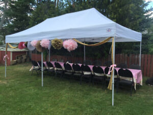Tent, chair, table rentals