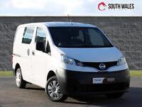 2014 NISSAN NV200 CREW BUS 5 SEAT KOMBI LOW MILES