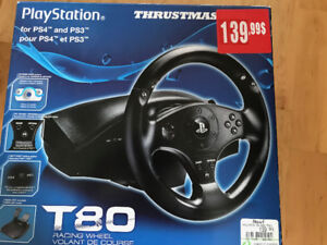 Volant de course PlayStation 4 ( T80)