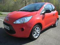 13/63 FORD KA 1.3 STUDIO + 3 DOOR IN RED WITH ONLY 19,000 MILES SERVICE HISTORY