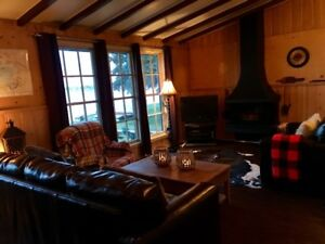 Lakefront Cabin Vacation Rental on Lac Ste. Anne