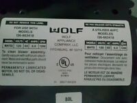 WOLF BLOWER WITH MOTOR #804703