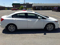2012 Honda Civic EX-AUTO Sedan; Alloys; Sunroof; Bluetooth; A/C.