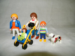 Playmobil famille de 4