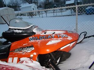 great sled 700 wildcat fuel injected Cambridge Kitchener Area image 1