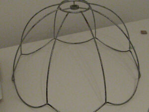TIFFANY LAMP SHADE: FRAME only