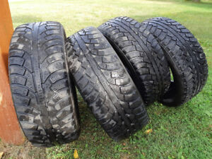 4 winter tires. Goodride 225/60R16/98T From an Impala