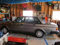 1992 volvo 240 4 door sedan