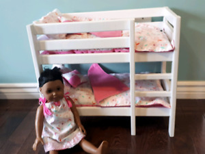 18 inch Doll Bunkbed
