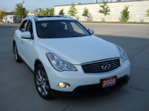 2008 Infiniti EX35, AWD, Leather, Sunroof, 3/Y warranty availabl