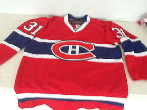 Montreal Canadians Price and Dryden jerseys
