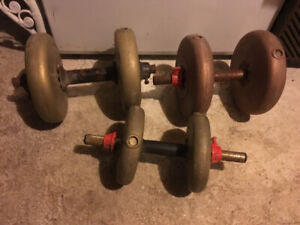 Exercise Weights Barbells
